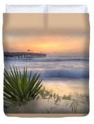 Dreams By The Sea Duvet Cover
