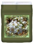 Dreams Of Pear Blossoms Duvet Cover
