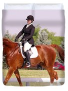 Dressage Test Duvet Cover