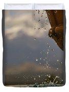 Dripping Fountain Duvet Cover