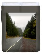 Driving The Pass Duvet Cover