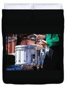 Drummer Boy Duvet Cover