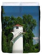 Dry Land Lighthouse 1 Duvet Cover