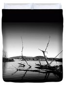 Dryden Lake New York Duvet Cover by Paul Ge
