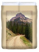 Dubois Mountain Road Duvet Cover