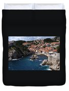 Dubrovnik By The Sea Duvet Cover