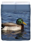 Duck On The Water Duvet Cover