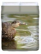 Duck Spits Duvet Cover