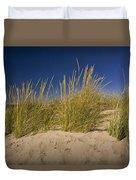 Dune And Beach Grass On Lake Michigan No.969 Duvet Cover