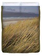 Dune Grass On The Oregon Coast Duvet Cover