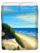 Dunes At Dalvay Duvet Cover