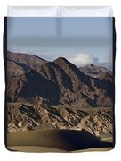 Dunes Of Death Valley Duvet Cover