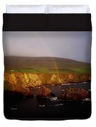 Dunquin Harbour, Dingle Peninsula,co Duvet Cover