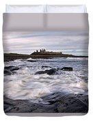 Dunstanburgh Castle Iv Duvet Cover