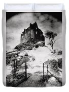 Duntroon Castle Duvet Cover by Simon Marsden