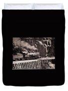 Durango And Silverton Steam Train Duvet Cover