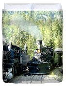 Durango Silverton Steam Locomotive Duvet Cover
