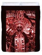Durga Duvet Cover by Photo Researchers