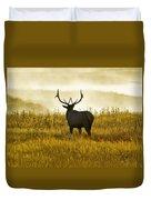 Dusky Elk Duvet Cover