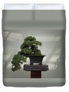 Dwarf Japanese Garden Juniper Duvet Cover
