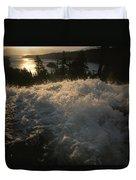 Eagle Falls Plunges Toward Lake Tahoe Duvet Cover