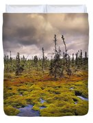 Eagle Plains, Yukon Territory, Canada Duvet Cover