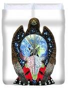 Eagle Tipi Duvet Cover by Tim McCarthy
