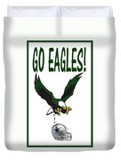 Eagles Vs Dallas Duvet Cover