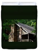 Early 19th Century Log Cabin Duvet Cover