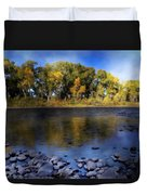 Early Fall At The Headwaters Of The Rio Grande Duvet Cover by Ellen Heaverlo