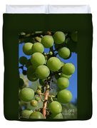 Early Grapes Duvet Cover