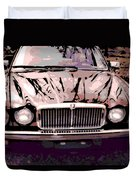 Early Jaguar Xj6 Duvet Cover