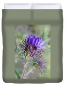 Early Knapweed Duvet Cover