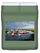 Early Morning Paddy's Hole Duvet Cover