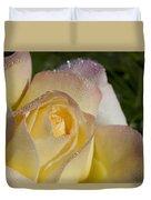 Early Morning Peace Rose Duvet Cover
