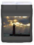 Early Morning Rays Duvet Cover