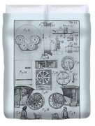Early Odometer Duvet Cover by Science Source