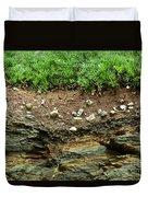 Earth Cross Section Duvet Cover