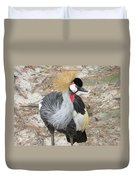 East African Crowned Crane  Duvet Cover
