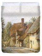 East Hagbourne Berkshire Duvet Cover