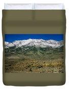 East Humboldt Range Duvet Cover