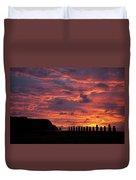 Easter Island Duvet Cover