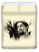 Easter Procession In Mexico Duvet Cover