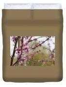 Eastern Redbud Asian Style Duvet Cover