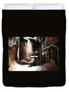 Eastern State Penitentiary - Barber's Chair Duvet Cover