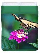 Eastern Tiger Swallowtail 8 Duvet Cover