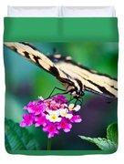 Eastern Tiger Swallowtail 9 Duvet Cover
