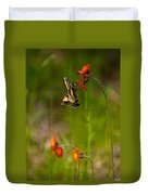 Eastern Tiger Swallowtail Profile Shot Duvet Cover
