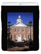 Easton Maryland Courthouse Duvet Cover