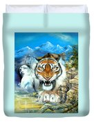 Easy Tiger Duvet Cover